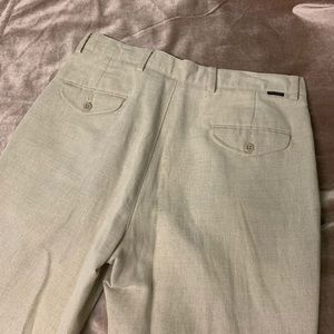 Men's Dockers khaki linen pants
